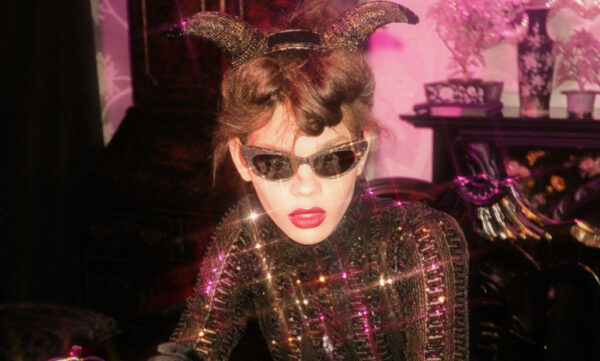 MUST-HAVE GLITTERY CAT EYE FRAMES IN ANNA SUI'S FW20 COLLECTION