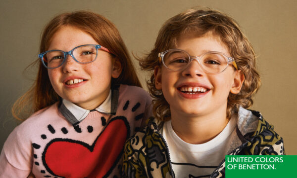 KEEP LITTLE CUTIES STYLISH IN UNITED COLORS OF BENETTON'S SPECS FOR KIDS