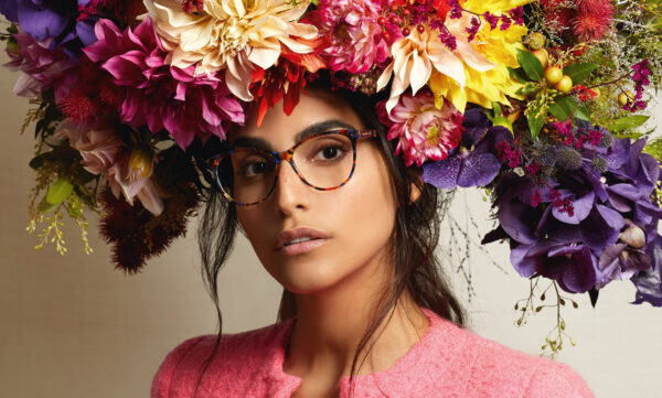 ELABORATE EMBELLISHMENTS IN CHRISTIAN LACROIX'S SS21 OPTICAL COLLECTION