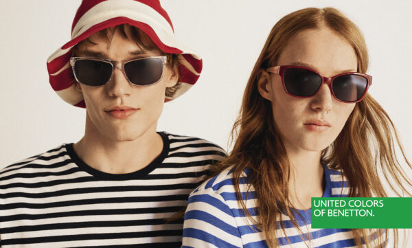 A BRIGHTER FUTURE WITH UNITED COLORS OF BENETTON'S COLOURFUL SUNNIES! #HAPPYPRIDE